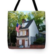 The Betsy Ross House Philadelphia Tote Bag by Bill Cannon