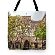 The Beverly Hills Wilshire Tote Bag