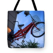 The Bicycle Thief - Halifax Tote Bag