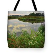 The Big Bend Of The Nippersink Tote Bag