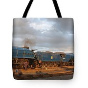 the Big Blue Engines  Tote Bag