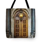 The Big Doors Tote Bag