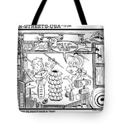 The Biggest Boob In Town Tote Bag