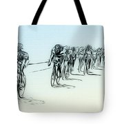 The Bike Race Tote Bag