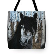 The Birch Horse Tote Bag