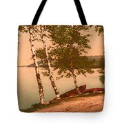 The Birches At Oak Birch Inn, Alton Bay, Lake Winnipesaukee, N. H.  Tote Bag