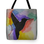 The Bird And Colors  Tote Bag