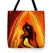 The Bird In The Case Tote Bag