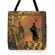 The Bird Lady Tote Bag