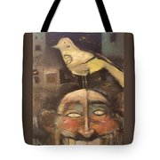 The Birdman Of Alcatraz Tote Bag