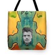 The Birth Of Rorschach The Inventor Of The Inkblot Test Tote Bag