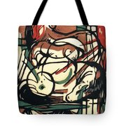 The Birth Of The Horse 1913 Tote Bag