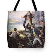 The Birth Of The Us National Anthem Tote Bag
