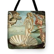 The Birth Of Venus Tote Bag by Sandro Botticelli
