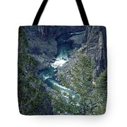 The Black Canyon Of The Gunnison Tote Bag