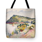 The Black Cape Pramousquier Bay Tote Bag