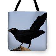 The Black Crow II Tote Bag