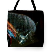 The Black Horse I Tote Bag