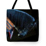 The Black Horse II Tote Bag by Amanda Struz