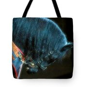 The Black Horse IIi Tote Bag by Amanda Struz