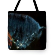 The Black Horse Iv Tote Bag