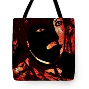 The Black Mask Tote Bag
