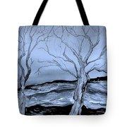 The Bleak Terrain  Tote Bag