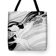 The Blood Of Fish Tote Bag