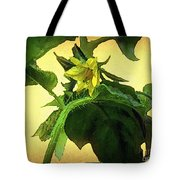 The Blossom To Become A Fruit Tote Bag