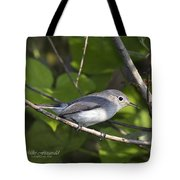 The Blue And The Grey Tote Bag