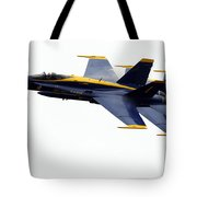 the Blue Angels leads the diamond in the Echelon Tote Bag