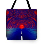 The Blue Avenue Tote Bag