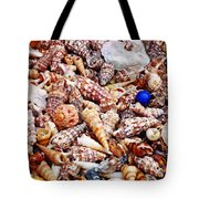 The Blue Bead Tote Bag