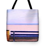 The Blue Bench Tote Bag