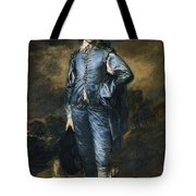 The Blue Boy Tote Bag