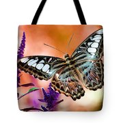 The Blue Clipper Tote Bag by Lois Bryan