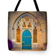 The Blue Door Tote Bag