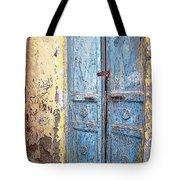 The Blue Doors Nubian Village Tote Bag