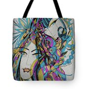 The Blue Dreams Tote Bag