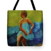 The Blue Dress Tote Bag