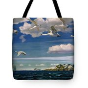 The Blue Expanse Tote Bag