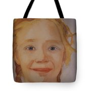 The Blue-eyed Duckling Tote Bag