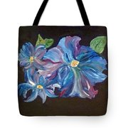 The Blue Flowers Tote Bag
