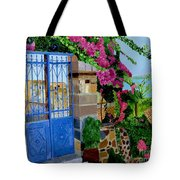 The Blue Gate  Tote Bag