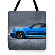 The Blue Ghost Tote Bag