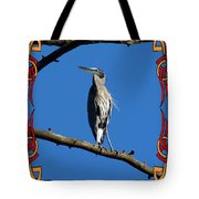The Blue Heron Claimed He Was Framed Tote Bag