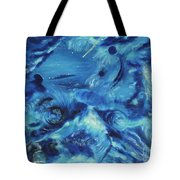 The Blue Hole Tote Bag by Regina Wirsich Roberts