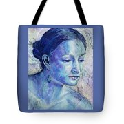The Blue Jewel Tote Bag