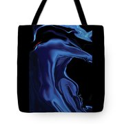 The Blue Kiss Tote Bag