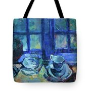 The Blue Kitchen Tote Bag